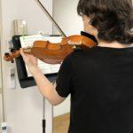 ヴァイオリンの左腕