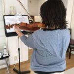 ヴァイオリン練習時間の確保に