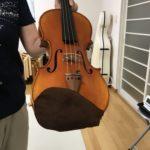 ヴァイオリンのアゴ当てカバー