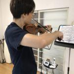 ヴァイオリン演奏を聴きに