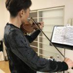 ヴァイオリンの「運動」