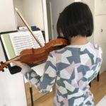 ヴァイオリンオンラインレッスン 1