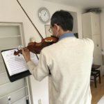 ヴァイオリンの弓の毛