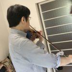 「ステイホーム」中のヴァイオリン 2