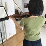 ヴァイオリンの音程 1