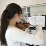 時間のある時はヴァイオリン練習