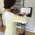 ヴァイオリンレッスンのメモ