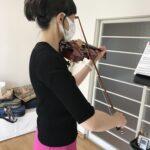 ヴァイオリンのボーイングで