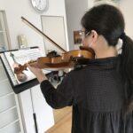 ヴァイオリンのポジション移動