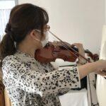ヴァイオリンの左指